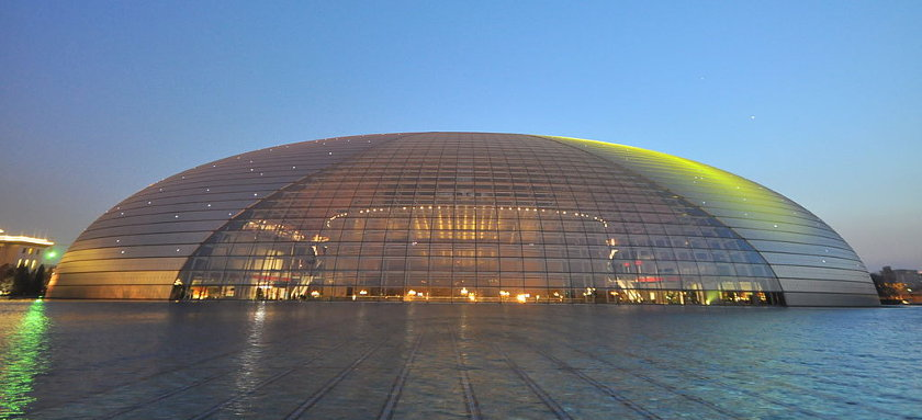 Grand Theatre (The Egg), Beijing | by Jorge Láscar, via Wikimedia Commons